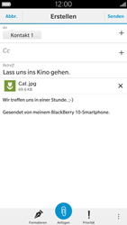 BlackBerry Leap - E-Mail - E-Mail versenden - 0 / 0