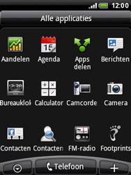 HTC A3333 Wildfire - MMS - afbeeldingen verzenden - Stap 2