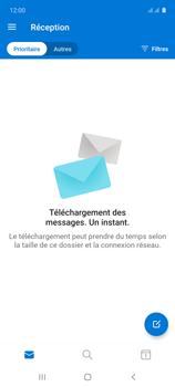 Samsung Galaxy A71 - E-mails - Ajouter ou modifier votre compte Outlook - Étape 5