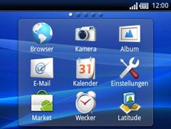 Sony Ericsson Xperia X10 Mini Pro - Apps - Konto anlegen und einrichten - 3 / 19