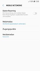 Samsung Galaxy A5 (2017) - Android Oreo - Netzwerk - Netzwerkeinstellungen ändern - Schritt 6