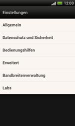 HTC T328e Desire X - Internet - Manuelle Konfiguration - Schritt 18