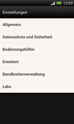 HTC Desire X - Internet - Manuelle Konfiguration - 18 / 23