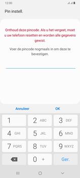 Samsung Galaxy A70 - Beveiliging en privacy - automatische schermblokkering instellen - Stap 10