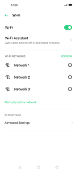 Oppo Find X2 Neo - WiFi - WiFi configuration - Step 6