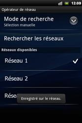 Sony Ericsson Xperia Mini Pro - Réseau - utilisation à l'étranger - Étape 13