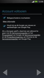 HTC One - Applicaties - Account instellen - Stap 18