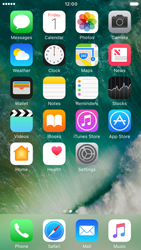 Apple iPhone 6s iOS 10 - iOS features - Control Centre - Step 1