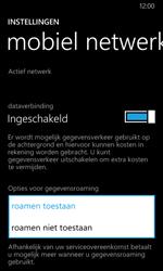 Nokia Lumia 630 - Internet - Dataroaming uitschakelen - Stap 6