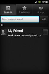Sony C1505 Xperia E - E-mail - Sending emails - Step 6