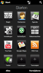 HTC T7373 Touch Pro II - e-mail - handmatig instellen - stap 3