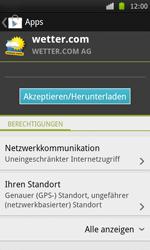 Samsung I9000 Galaxy S - Apps - Herunterladen - Schritt 14