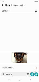 Samsung Galaxy J4 Plus - MMS - envoi d'images - Étape 21