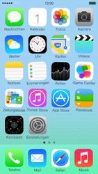 Apple iPhone 5c - Startanleitung - Personalisieren der Startseite - Schritt 3