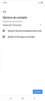 Samsung Galaxy A51 - E-mail - configuration manuelle - Étape 20