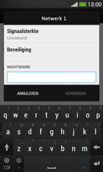 HTC Desire 500 - Wifi - handmatig instellen - Stap 7