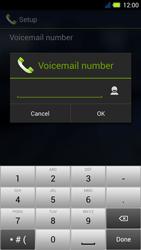 Acer Liquid E3 - Voicemail - Manual configuration - Step 9