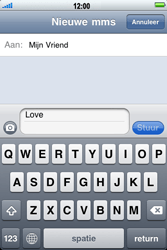 Apple iPhone 3G - MMS - hoe te versturen - Stap 6
