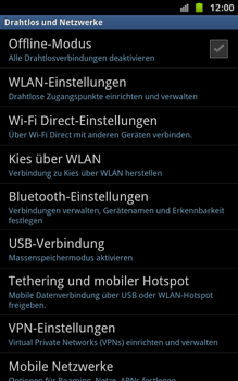 Samsung Galaxy Note - Bluetooth - Geräte koppeln - 7 / 13