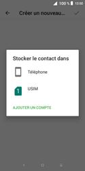 Alcatel 1X - Contact, Appels, SMS/MMS - Ajouter un contact - Étape 6