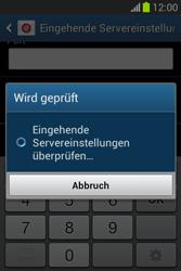 Samsung Galaxy Fame Lite - E-Mail - Manuelle Konfiguration - Schritt 12