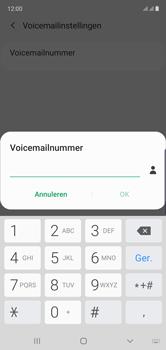 Samsung Galaxy Note 10 - voicemail - handmatig instellen - stap 10