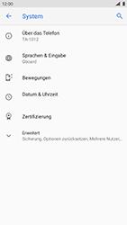Nokia 8 - Android Pie - Gerät - Zurücksetzen auf die Werkseinstellungen - Schritt 5