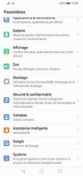 Huawei Y7 (2019) - Sécurité - modifier SIM PIN - Étape 3