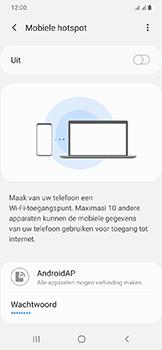 Samsung Galaxy A20e - Internet - mijn data verbinding delen - Stap 7