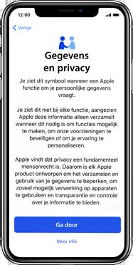 Apple iphone-xs-max-met-ios-13-model-a1921 - Instellingen aanpassen - Activeer het toestel en herstel jouw iCloud-data - Stap 10