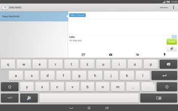 Sony Xperia Tablet Z2 LTE - MMS - Erstellen und senden - 16 / 22