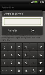 HTC T328e Desire X - SMS - configuration manuelle - Étape 6