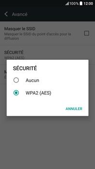 HTC Desire 825 - Internet et connexion - Partager votre connexion en Wi-Fi - Étape 12