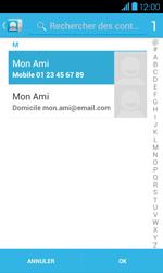 Bouygues Telecom Bs 401 - Contact, Appels, SMS/MMS - Envoyer un SMS - Étape 7