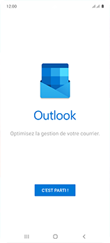 Samsung Galaxy A51 - E-mail - 032c. Email wizard - Outlook - Étape 5