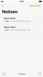 Apple iPhone SE - iOS 11 - Neue Funktionen der Notizen - 20 / 26