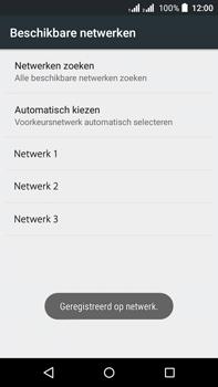 Acer Liquid Z630 - Netwerk - Handmatig een netwerk selecteren - Stap 13