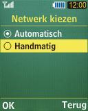 Samsung C3050 - netwerk en bereik - gebruik in binnen- en buitenland - stap 6