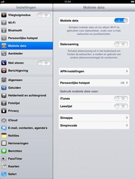 Apple iPad mini - Internet - handmatig instellen - Stap 5