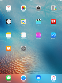 Apple iPad Pro 12.9 inch met iOS9 (Model A1652) - Software - Synchroniseer met PC - Stap 1