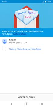 Sony Xperia XZ3 - E-Mail - Konto einrichten (gmail) - Schritt 13