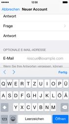 Apple iPhone 5S mit iOS 8 - Apps - Konto anlegen und einrichten - Schritt 26