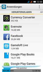 Alcatel One Touch Pop C3 - Apps - Eine App deinstallieren - Schritt 5