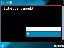 Nokia E71 - MMS - Manuelle Konfiguration - Schritt 27