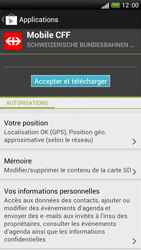 HTC One S - Applications - Installation d