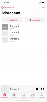 Apple iPhone 11 Pro Max - Photos, vidéos, musique - Ecouter de la musique - Étape 6