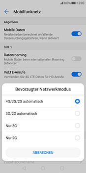 Huawei Mate 10 Pro - Netzwerk - Netzwerkeinstellungen ändern - 6 / 7