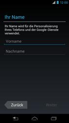 Motorola XT890 RAZR i - Apps - Konto anlegen und einrichten - Schritt 5