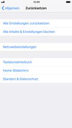 Apple iPhone 8 - iOS 12 - Gerät - Zurücksetzen auf die Werkseinstellungen - Schritt 5