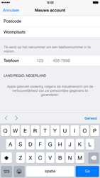 Apple iPhone 6 Plus (iOS 8) - apps - account instellen - stap 23